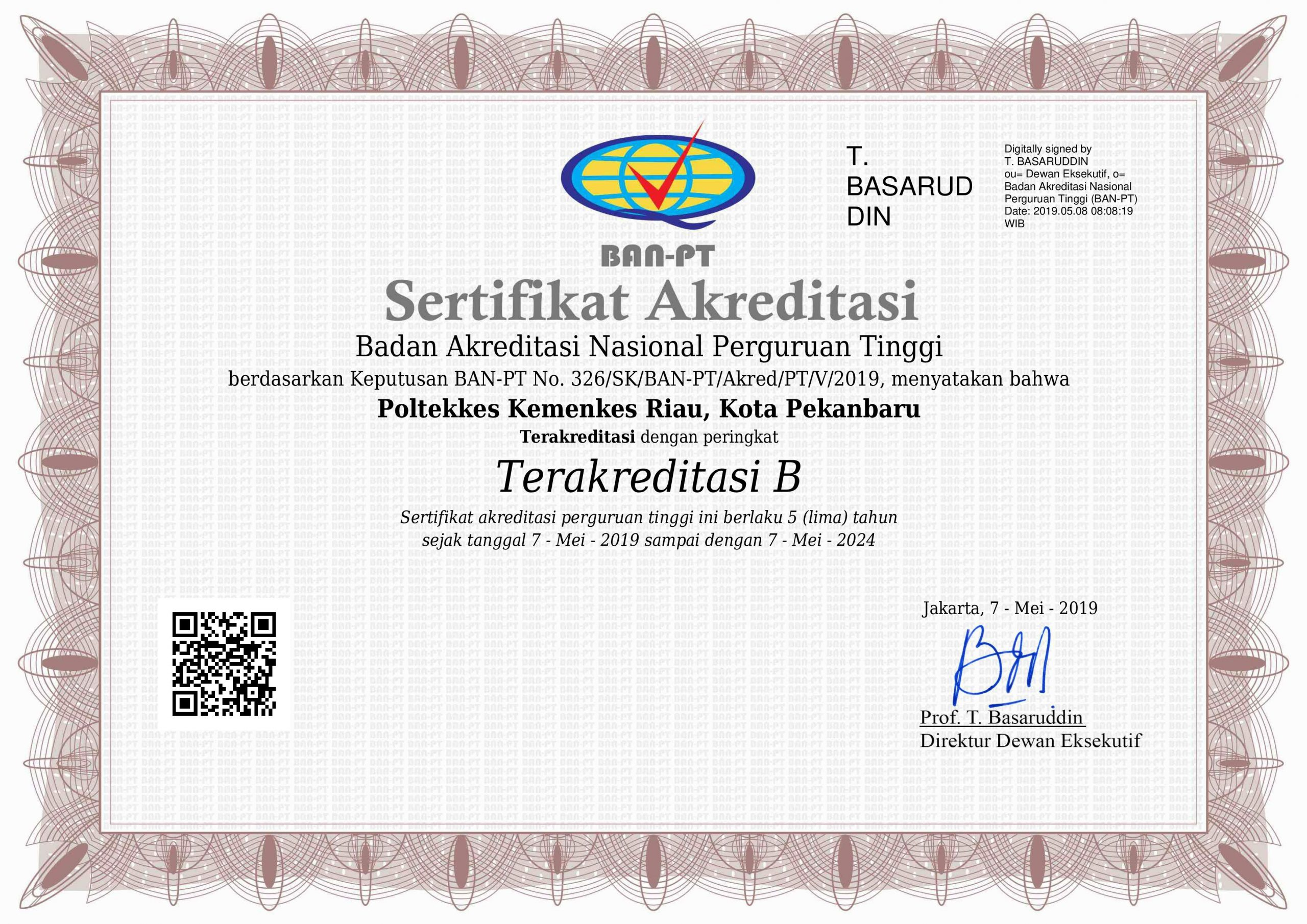 Akreditasi-Poltekkes-Riau
