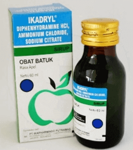 Obat Batuk Difenhidramin HCl