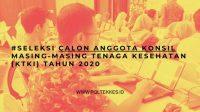 Seleksi Calon Anggota Konsil Tenaga Kesehatan Indonesia