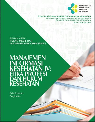Buku Manajemen Informasi Kesehatan IV