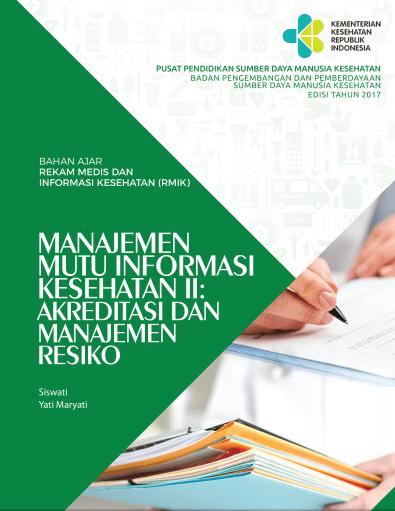 Buku Manajemen Mutu Informasi Kesehatan II