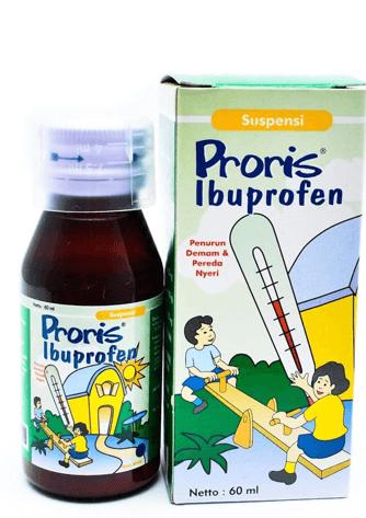 proris ibuprofen obat sakit gigi anak